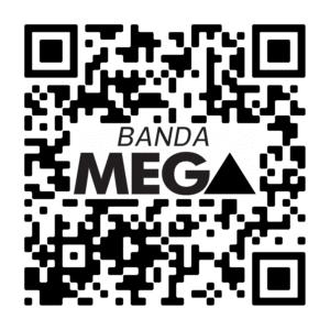 QR Code Canal do YouTube Banda mega(modelo 1)